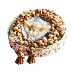 Croccante con angelo di pasta reale