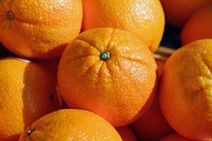 Scorzette di arancia